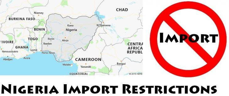 Nigeria Import Regulations