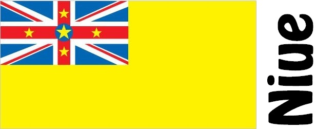 Niue Country Flag