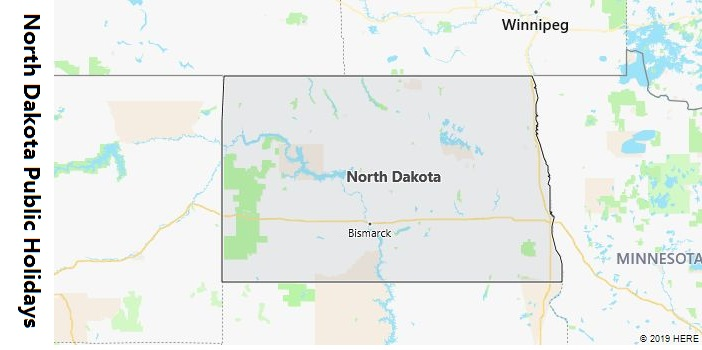 North Dakota Public Holidays
