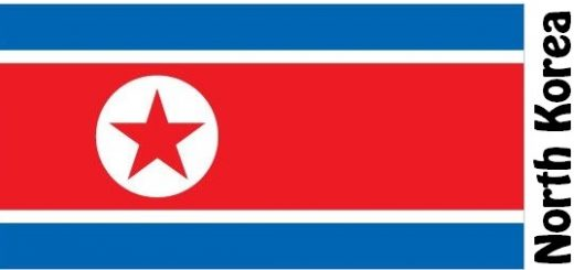 North Korea Country Flag