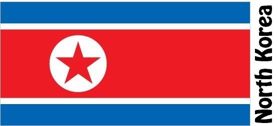 North Korea Country Flag