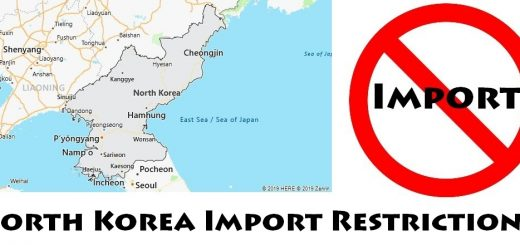 North Korea Import Regulations