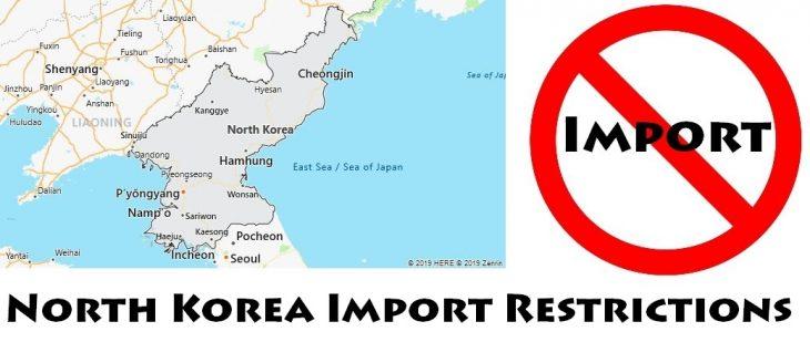 North Korea Import Regulations