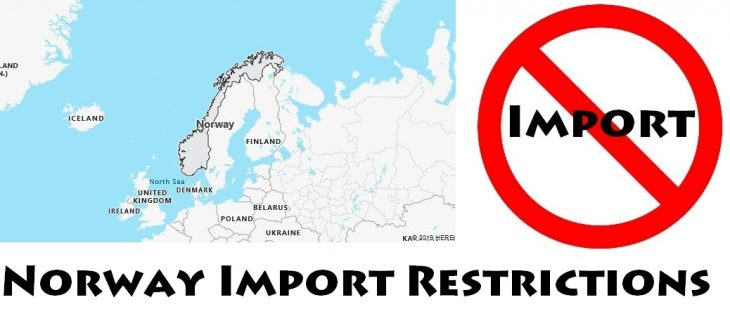 Norway Import Regulations
