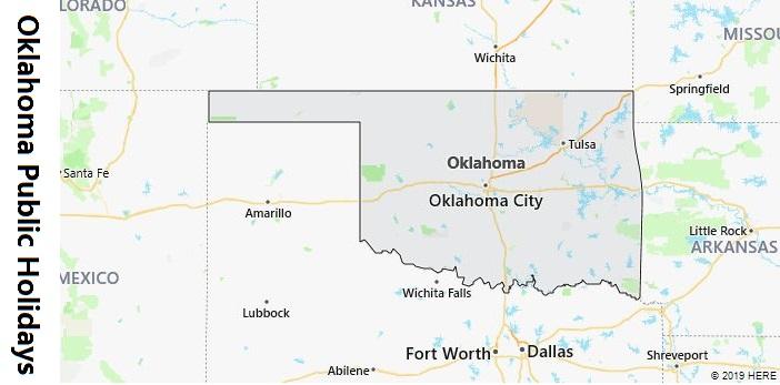 Oklahoma Public Holidays