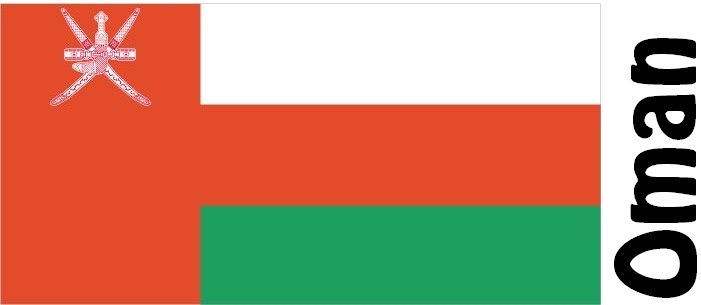 Oman Country Flag