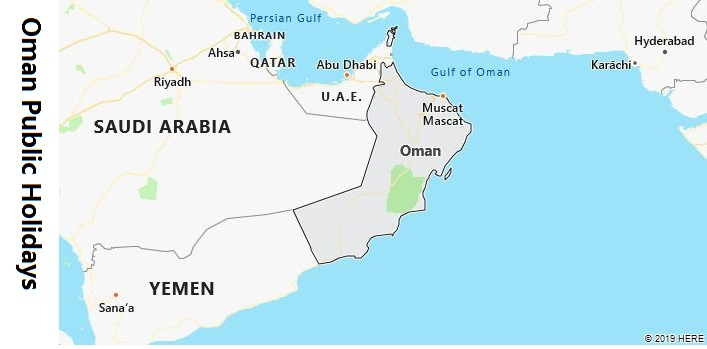 Oman Public Holidays