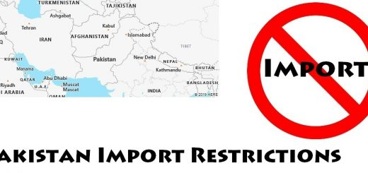 Pakistan Import Regulations