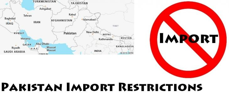 Pakistan Import Regulations
