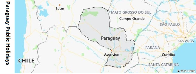 Paraguay Public Holidays