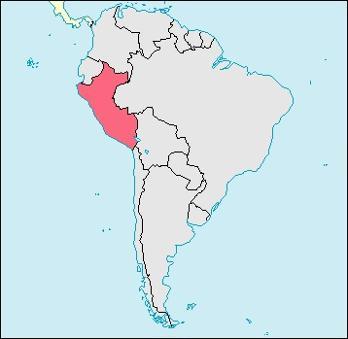 Peru Location Map