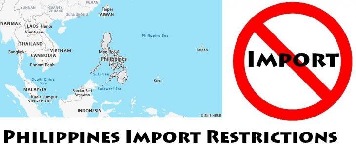 Philippines Import Regulations