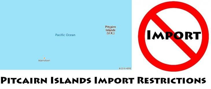 Pitcairn Islands Import Regulations