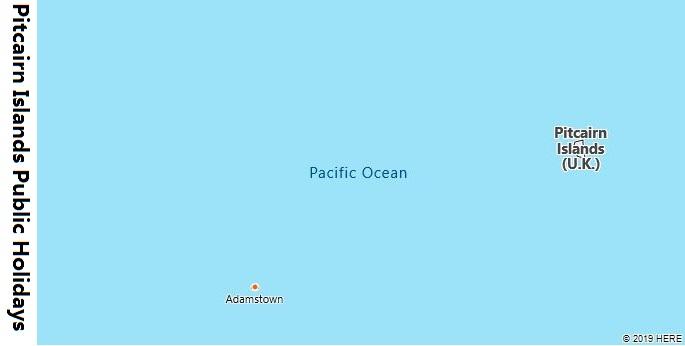 Pitcairn Islands Public Holidays