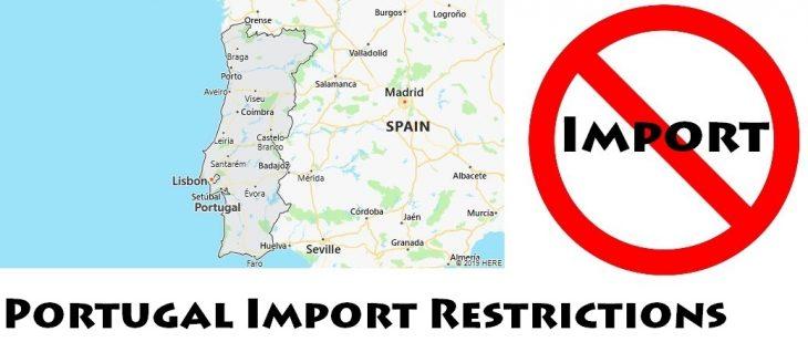 Portugal Import Regulations