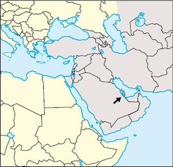 Qatar Location Map