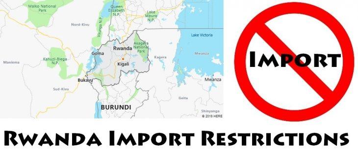 Rwanda Import Regulations