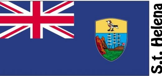 Saint Helena Country Flag