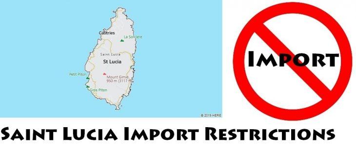 Saint Lucia Import Regulations
