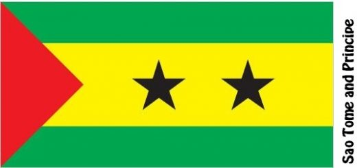 Sao Tome and Principe Country Flag