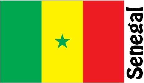 Senegal Country Flag