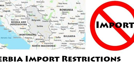 Serbia Import Regulations
