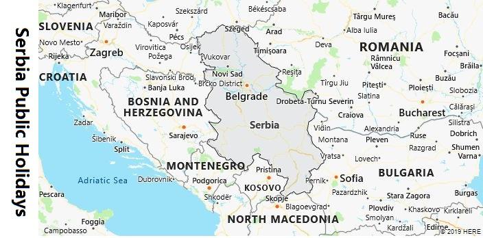 Serbia Public Holidays
