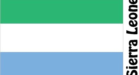 Sierra Leone Country Flag