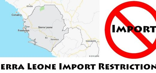 Sierra Leone Import Regulations