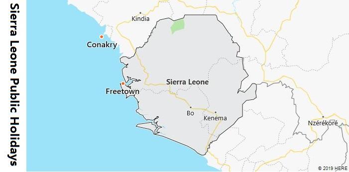 Sierra Leone Public Holidays