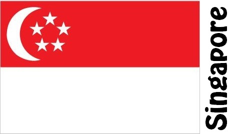 Singapore Country Flag