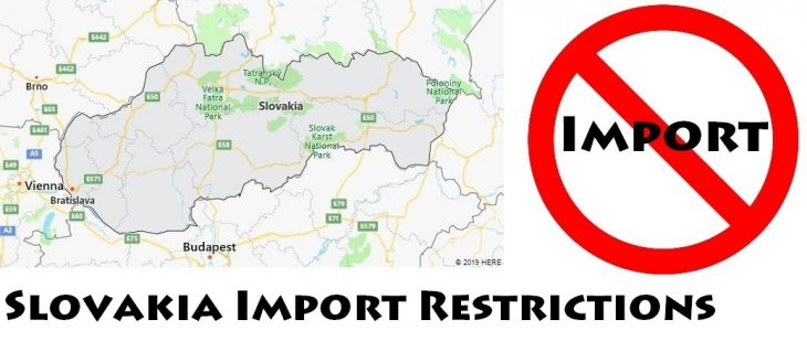Slovakia Import Regulations