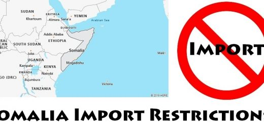 Somalia Import Regulations