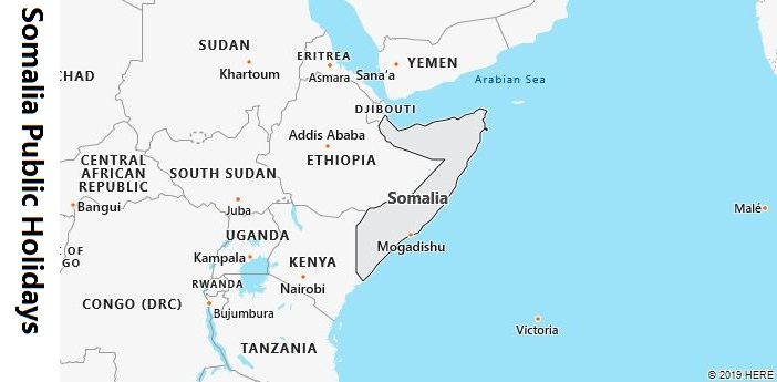 Somalia Public Holidays