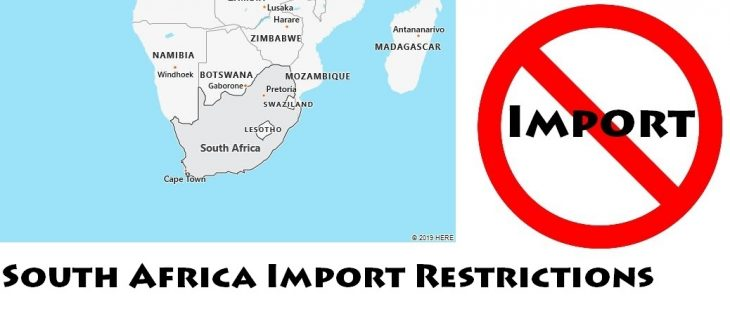 South Africa Import Regulations