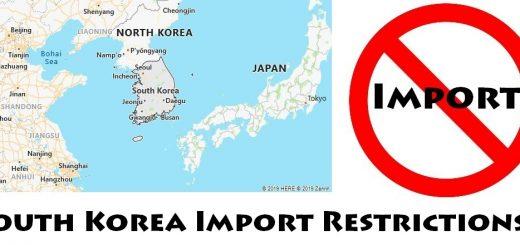 South Korea Import Regulations