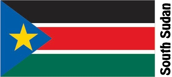 South Sudan Country Flag
