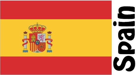 Spain Country Flag