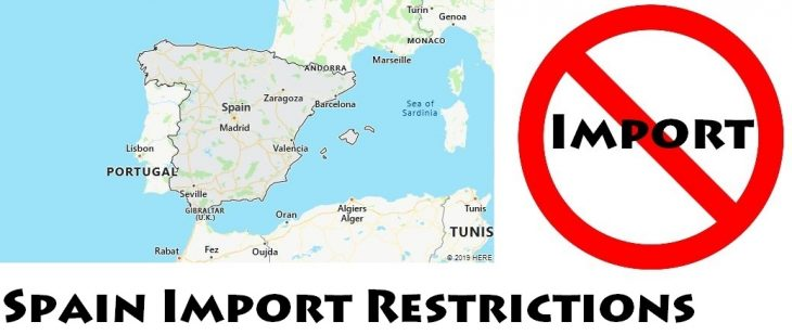 Spain Import Regulations