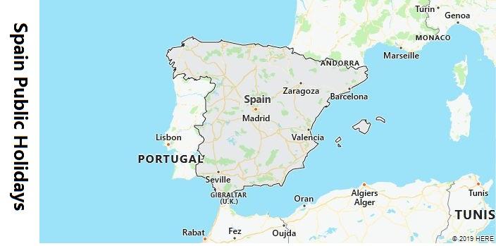 Spain Public Holidays