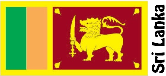 Sri Lanka Country Flag