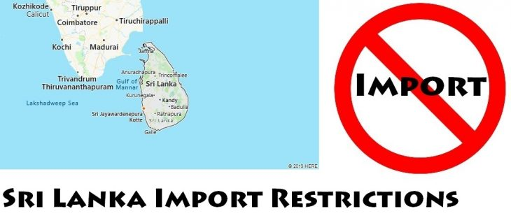 Sri Lanka Import Regulations
