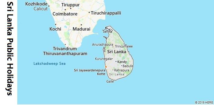Sri Lanka Public Holidays