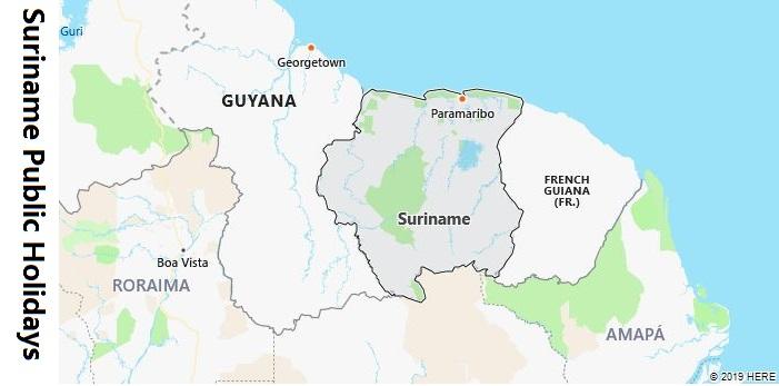 Suriname Public Holidays