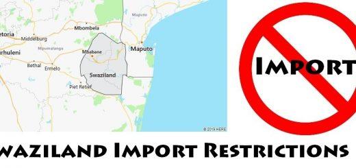 Swaziland Import Regulations