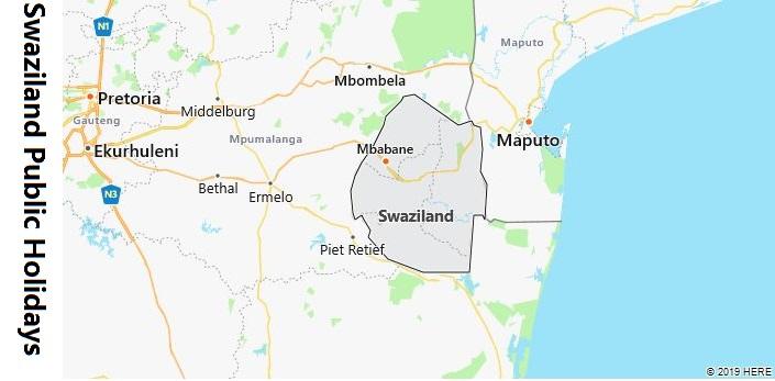 Swaziland Public Holidays