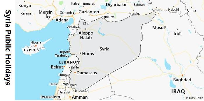 Syria Public Holidays