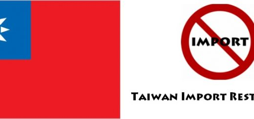 Taiwan Import Regulations