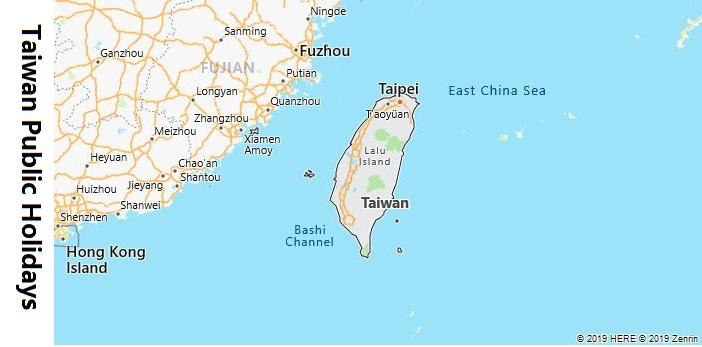 Taiwan Public Holidays
