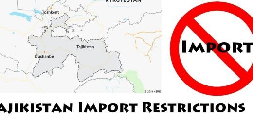 Tajikistan Import Regulations
